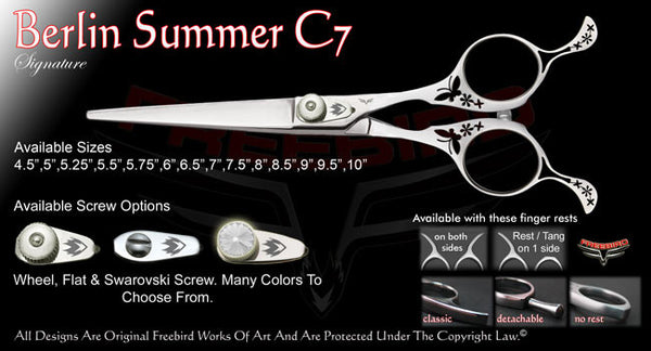 Berlin Summer C7 Straight Signature Hair Shears