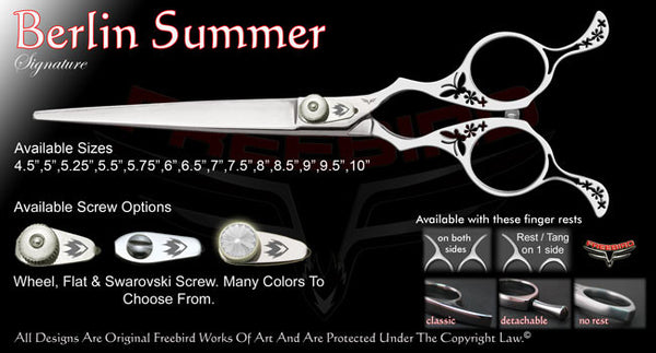 Berlin Summer Straight Signature Grooming Shears