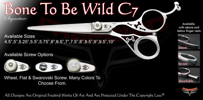 Bone To Be Wild C7 Signature Hair Shears