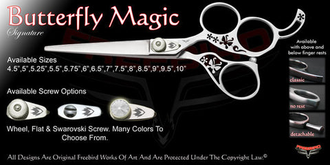 Butterfly Magic 3 Hole Signature Hair Shears