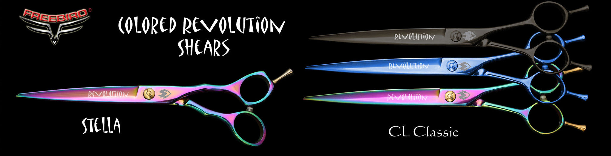 Revolution Titanium Coated Grooming Shears