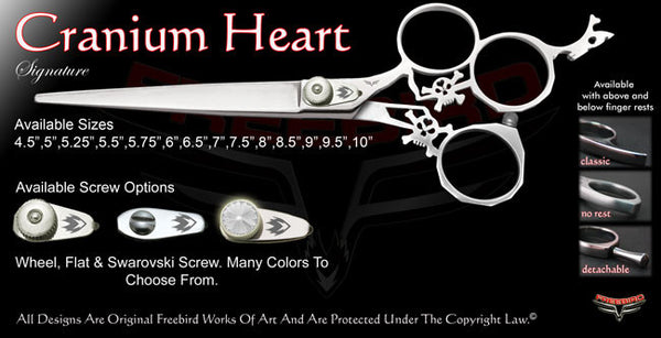 Cranium Heart 3 Hole Signature Grooming Shears