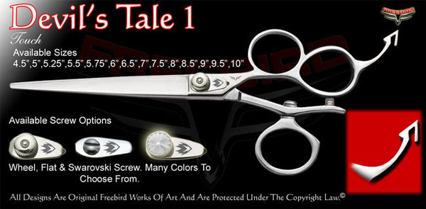 Devil's Tale 1 3 Hole V Swivel Touch Grooming Shears