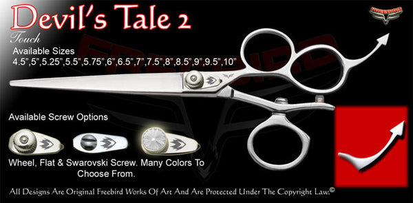 Devil's Tale 2 3 Hole V Swivel Touch Grooming Shears