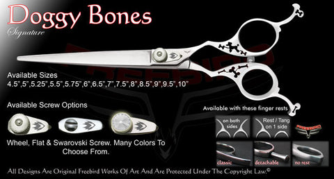 Doggy Bones Straight Signature Grooming Shears