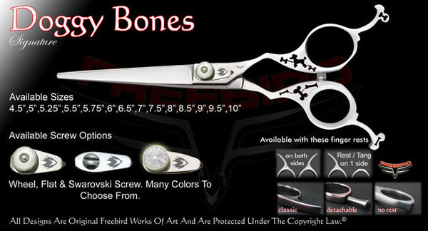 Doggy Bones Straight Signature Hair Shears