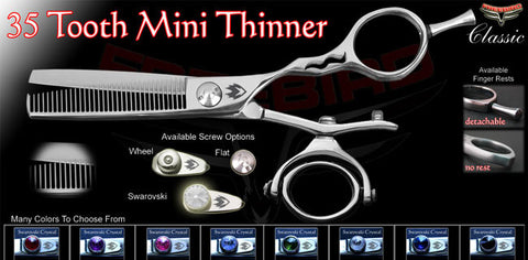 Double Swivel 35 Tooth Thinning Shears