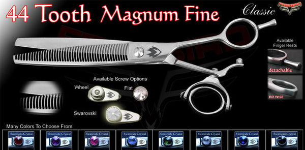 Double Swivel 44 Tooth Mugnum Thinning Shears