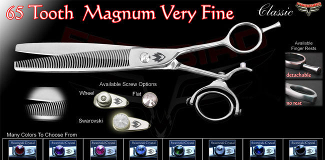 Double Swivel 65 Tooth Magnum Thinning Shears