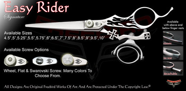 Easy Rider Double Swivel Thumb Signature Grooming Shears