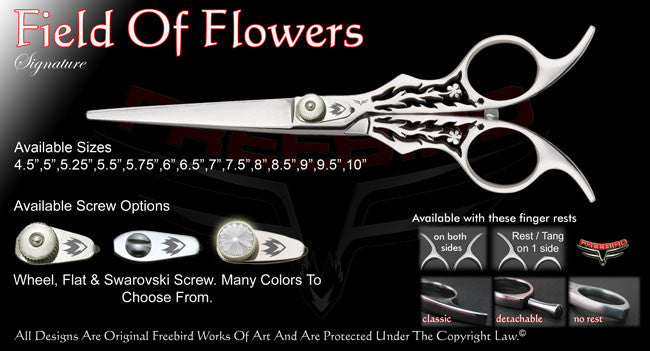 Field Of Flowers Straight Signature Hair Shears