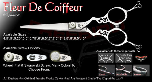 Fleur De Coiffeur Straight Signature Hair Shears