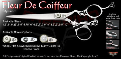 Fleur De Coiffeur Swivel Thumb Signature Grooming Shears