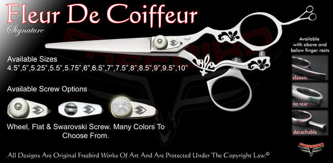 Fleur De Coiffeur Swivel Thumb Signature Hair Shears