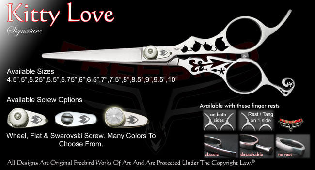 Kitty Love Straight Signature Hair Shears
