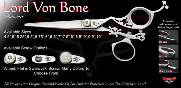 Lord Von Bone Swivel Thumb Signature Hair Shears