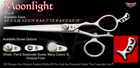 Moon Light V Swivel Touch Grooming Shears