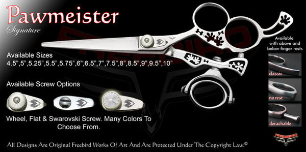 Pawmiester Hole Double Swivel Thumb Signature Hair Shears