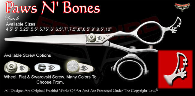 Paws N' Bones Double V Swivel Touch Grooming Shears