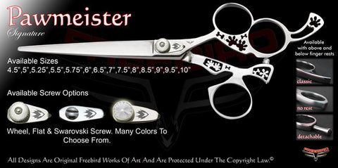 Pawmeister 3 Hole Swivel Thumb Signature Grooming Shears