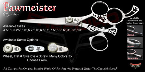 Pawmeister 3 Hole Swivel Thumb Signature Hair Shears