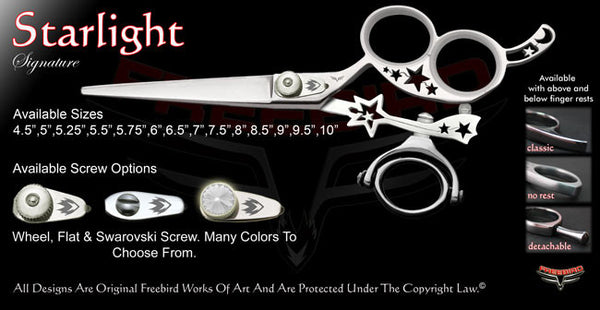 Starlight 3 Hole Double Swivel Thumb Signature Hair Shears