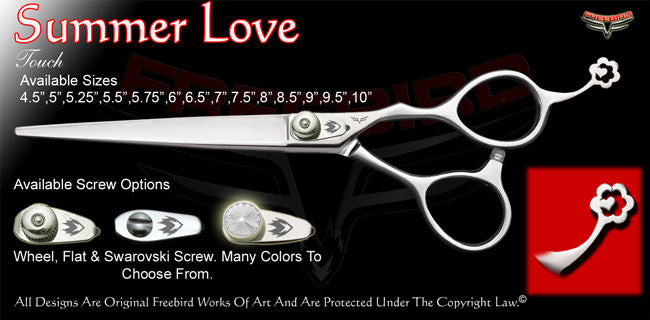 Summer Love Touch Grooming Shears