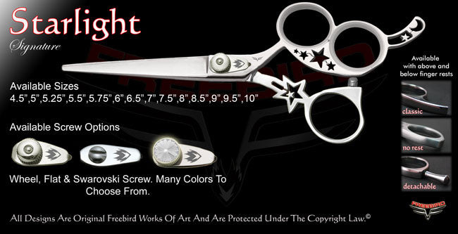 Starlight 3 Hole Signature Hair Shears