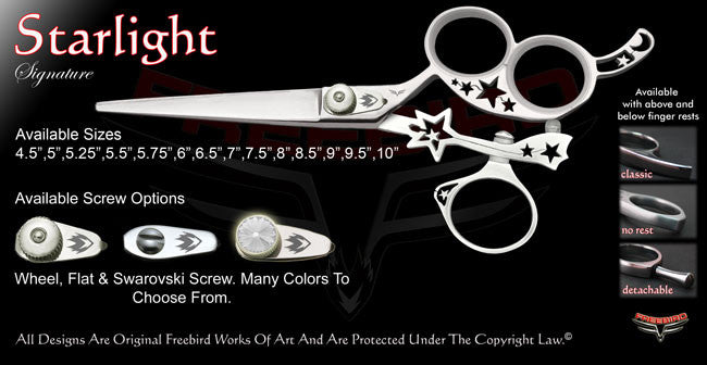 Starlight 3 Hole Swivel Thumb Signature Hair Shears