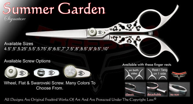 Summer Garden Straight Signature Hair Shears