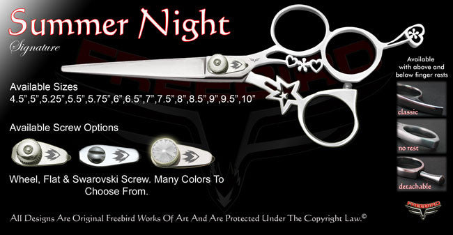 Summer Night 3 Hole Signature Hair Shears