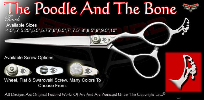 The Poodle And The Bone Touch Grooming Shears