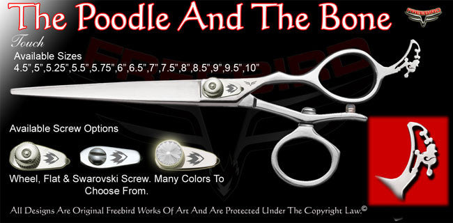 The Poodle And The Bone V Swivel Touch Grooming Shears