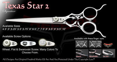 Texas Star 2 Straight Signature Grooming Shears