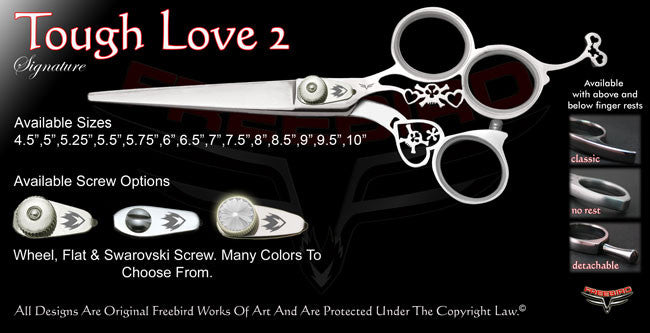 Tough Love 2 3 Hole Signature Hair Shears