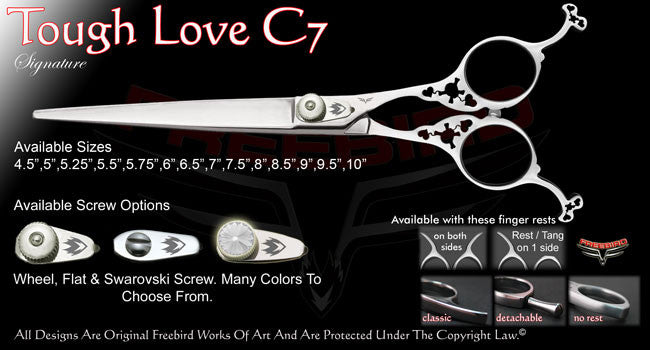 Tough Love C7 Straight Signature Grooming Shears