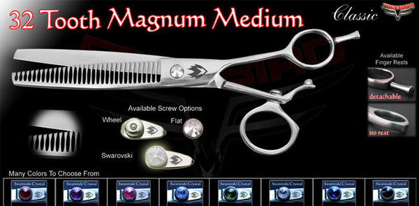 V Swivel 32 Tooth Magnum Thinning Shears