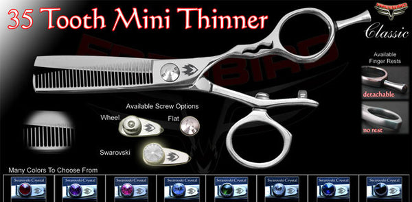 V Swivel 35 Tooth Thinning Shears