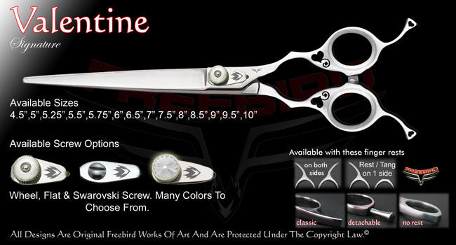 Valentine Straight Signature Grooming Shears