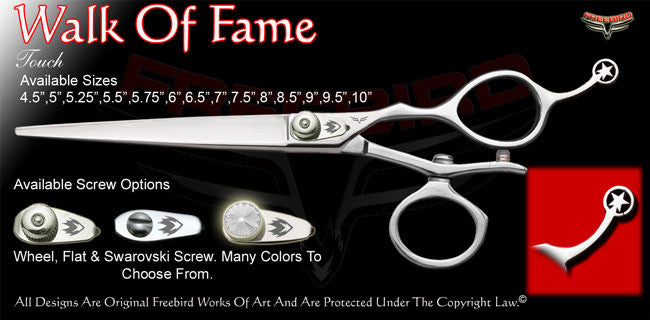 Walk Of Fame V Swivel Touch Grooming Shears