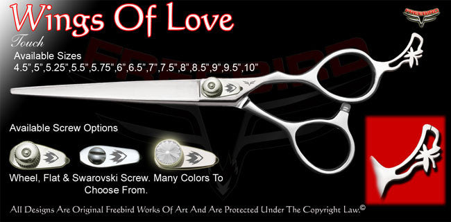 Wings Of Love Touch Grooming Shears