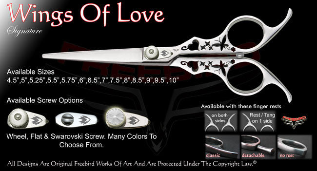 Wings Of Love Straight Signature Hair Shears