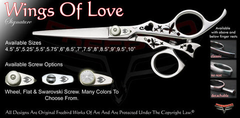 Wings Of Love Swivel Thumb Signature Hair Shears