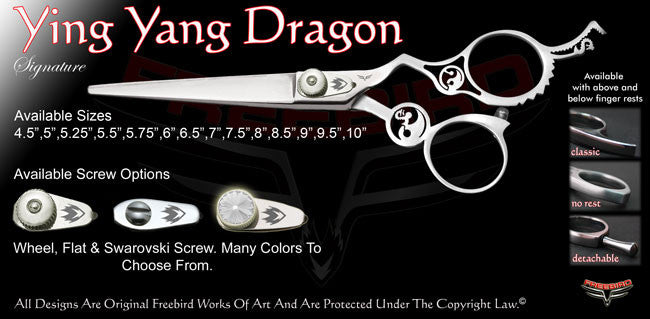 Ying Yang Dragon Signature Hair Shears