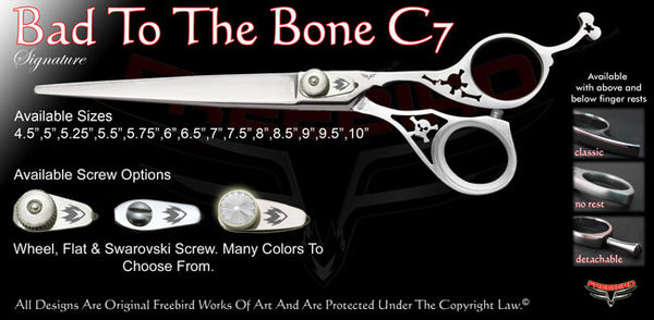 Bad To The Bone C7 Signature Grooming Shears