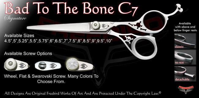 Bad To The Bone C7 Signature Hair Shears