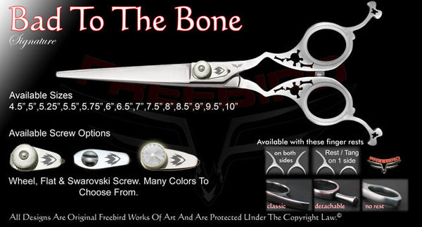 Bad To The Bone Straight Signature Hair Shears