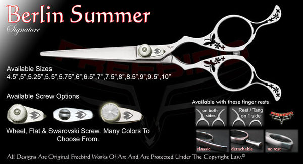 Berlin Summer Straight Signature Hair Shears