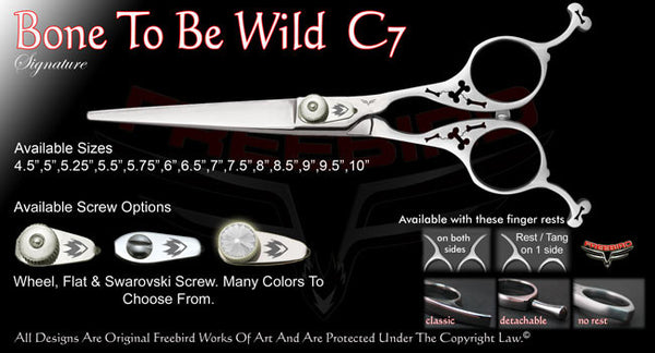 Bone To Be Wild C7 Straight Signature Hair Shears
