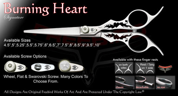 Burning Heart Straight Signature Hair Shears